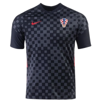 2020 Croatia Away Black Jersey Shirt