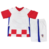 Croatia Kid's Soccer Jersey Home Kit (Shirt+Short) 2021