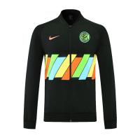 20/21 Inter Milan Black Player Version High Neck Collar Training Jacket