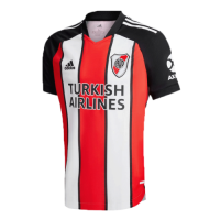 20/21 River Plate Third Away Red&White&Black Jerseys Shirt