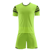 Style Customize Team Green Soccer Jerseys Kit(Shirt+Short)