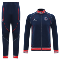 21/22 PSG Dark Navy High Neck Collar Training Kit(Jacket+Trouser)