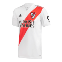 20/21 River Plate Home White Jerseys Shirt