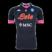 20/21 Napoli Third Away Black Soccer Jerseys Shirt