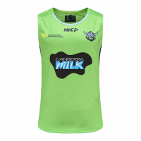 2021 Canberra Raiders Rugby Green Tank Top Jersey