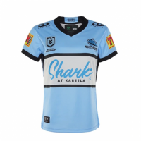 2021 Cronulla Sutherland Sharks Rugby Home Jersey Shirt