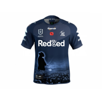 2021 Melbourne Storm Anzac Commemorative Rugby Jersey Shirt