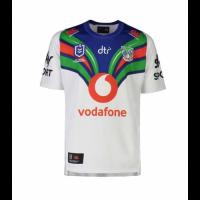 2021 New Zealand Warriors Away White Rugby Jersey Shirt