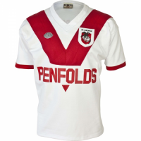 1979 St George Illawarra Dragons Retro Rugby Jersey Shirt