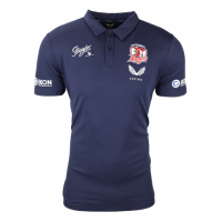 2021 Sydney Roosters Rugby Navy Polo Shirt