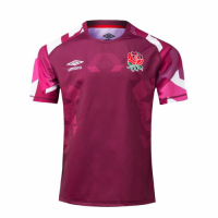 20-21 England Rugby Red Training Jersey Shirt