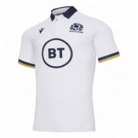 2021 Scotland Rugby Away White Jersey Shirt