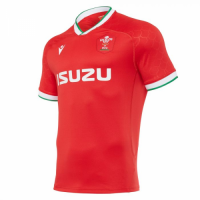 20-21 Wales Rugby Home Red Jersey Shirt