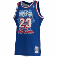 Men's Michael Jordan #23 Mitchell & Ness Blue 1993 NBA All-Star Game Hardwood Classics Jersey