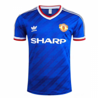 Manchester United Retro Soccer Jersey Away Replica 1986