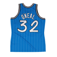 Men's Orlando Magic Shaquille O'Neal #32 Mitchell & Ness Blue 94-95 Hardwood Classics Jersey