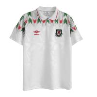 Wales Soccer Jersey Away Retro Replica 90/92