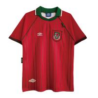 Wales Soccer Jersey Home Retro Replica 94/96