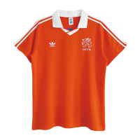 Netherlands Retro Soccer Jersey Home Replica 1990