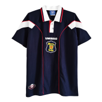 Scotland Retro Soccer Jersey Home Replica 1996/98