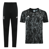 Germany Training Kit (Jersey+Pants) Black 2021/22