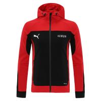 21/22 AC Milan Red Hoodie Jacket