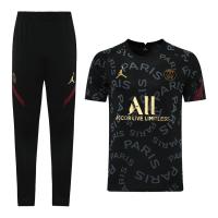 Jordan PSG 21/22Training Kit Shirt & Pants Black