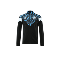 21/22 Marseilles Blue&Black Training Jacket