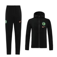 20/21  Inter Milan Black  Neck Collar Training Kit(Jacket+Trouser)