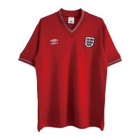England Retro Soccer Jersey Away Replica 1984/87