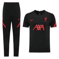 Liverpool 21/22 Training Kit Shirt & Pants Black
