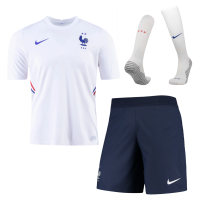 2020 France Away Soccer Jersey Whole Kit(Shirt+Short+Socks)