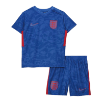 England Kid's Soccer Jersey Away Kit (Shirt+Short) 2021