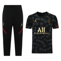 Jordan PSG 21/22 Training Kit Shirt & 3/4 Pants Black
