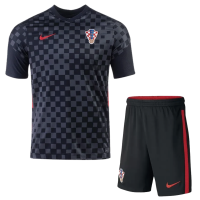 Croatia Soccer Jersey Away Kit (Shirt+Short) Replica 2021
