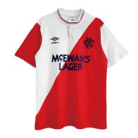 Glasgow Rangers Soccer Jersey Away Retro Replica 1987/88