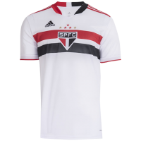 21/22 Sao Paulo Home White Soccer Jerseys Shirt