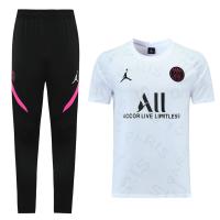 Jordan PSG 21/22 Training Kit Shirt & Pants White