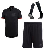 Germany Soccer Jesrey Away Whole Kit (Shirt+Short+Socks) Replica 2021