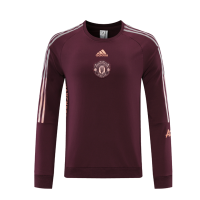 21/22 Manchester United Red Round Neck Sweater