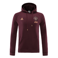 Manchester United Travel Hoodie Red 20/21