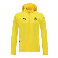 Borussia Dortmund Windbreaker Hoodie Jacket Yellow 2021/22