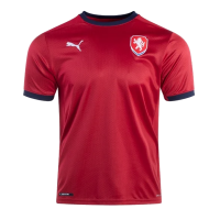 Czech Republic Soccer Jersey Home Replica 2021