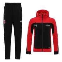 20/21 AC Milan Red  Neck Collar Training Kit(Jacket+Trouser)