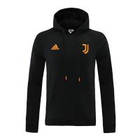21/22 Juventus Black Hoodie Sweater