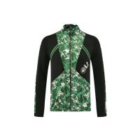 Manchester City Training Jacket High Neck Collar Green 2021/22