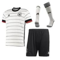 Germany Soccer Jersey Home Whole Kit (Shirt+Short+Socks) Replica 2021
