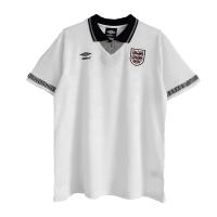 England Retro Soccer Jersey Home Replica World Cup 1990