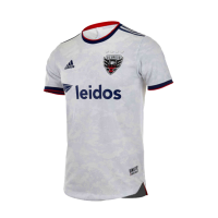2021 D.C. United Away White Soccer Jersey Shirt(Player Version)
