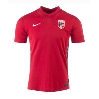 2021 Norway Home Red Soccer Jersey Shirt